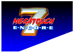 megatouch 7 side decal left